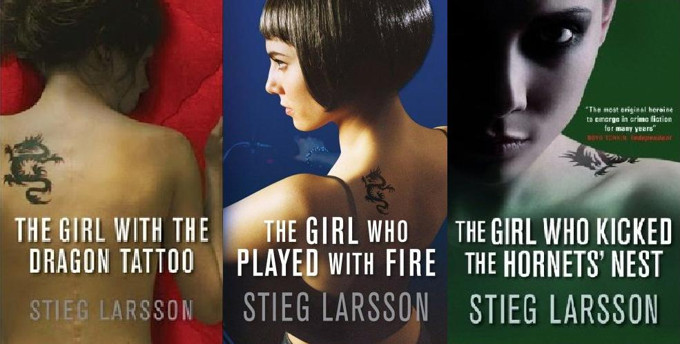 The millennium trilogy series thots and expressions for Book series girl with the dragon tattoo